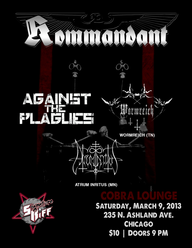 Kommandant Cobra Lounge Flyer